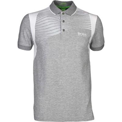 Hugo Boss Golf Shirt Paddy Pro 1 Grey Melange PS17