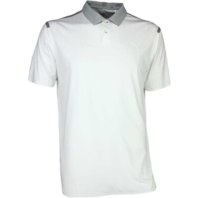 Puma Golf Shirt Bonded Bright White SS17