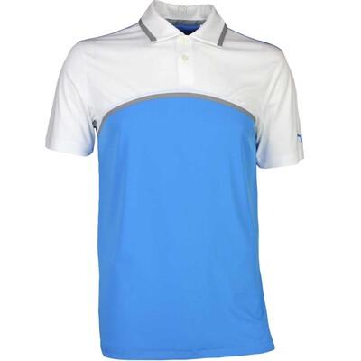 Puma Golf Shirt Tailored Colourblock French Blue SS17