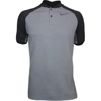 Nike Golf Shirt NK Dry Raglan Blade Dk Grey Heather AW17