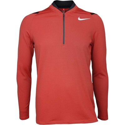 Nike Golf Pullover Aeroreact Half Zip Max Orange SS17