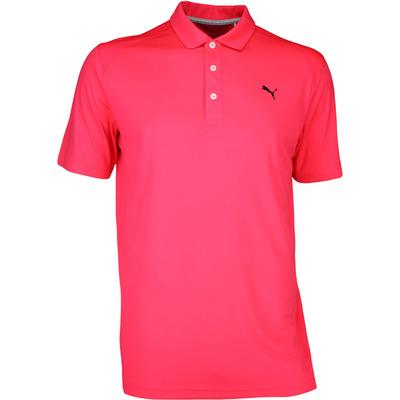 Puma Golf Shirt Essential Pounce Bright Plasma SS17