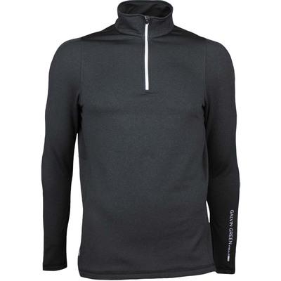 Galvin Green Golf Pullover DEAN Insula Lite Black AW17