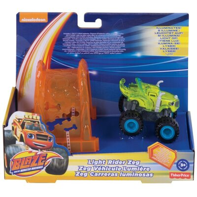 Fisher-Price Boys Nickelodeon Blaze & The Monster Machines Light Rider Zeg