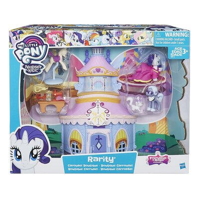 My Little Pony Fim Rarity Carousel Boutique Playset