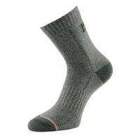 1000 Mile All Terrain Mens Walking Socks - Grey, UK 12 - 14