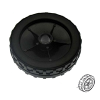 Image of Mountfield 170mm Front Wheel fits SP555, SP554, SP534, SP530 p/n 381007351/0