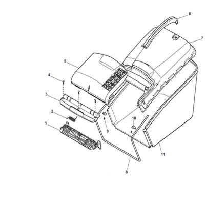 Mountfield Mountfield Deflector Fixing Screws (Pack of 3) 112728699/0