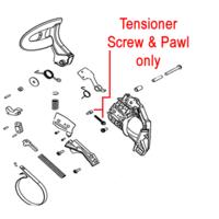 Image of Mitox Tensioner Screw & Pawl MIYD45.04.00-24 MIYD45.04.00-25