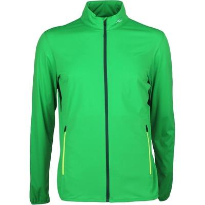 KJUS Windbreaker Golf Jacket DORIAN Fern Green SS17