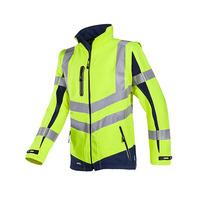 Malden 724 High Vis Yellow Soft Shell Jacket