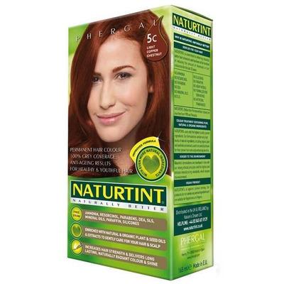 Naturtint Permanent Natural Hair Colour 5C Light Copper Chestnut 170ml