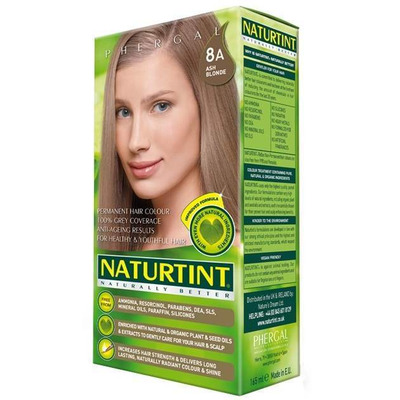 Naturtint Permanent Natural Hair Colour 8A Ash Blonde 170ml