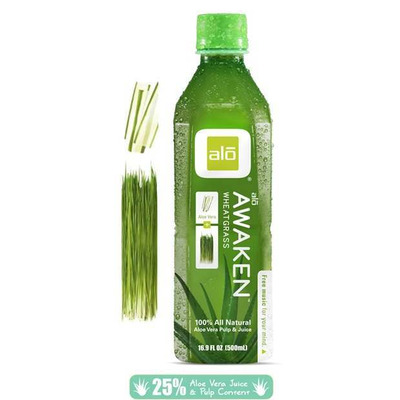 Alo Awaken - Aloe Vera & Wheatgrass Juice 500ml