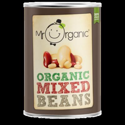 Mr Organic Mixed Beans 400g