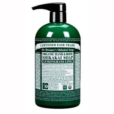 Dr Bronner's Organic Lemongrass Hand Soap 709ml