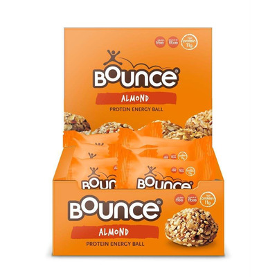 Bounce Almond Protein Hit Ball 49g - Pack of 12