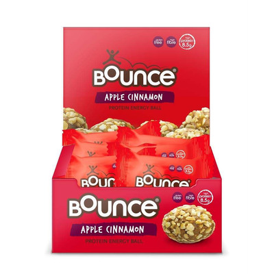 Bounce Apple and Cinnamon Protein Punch 42g - Pack of 12