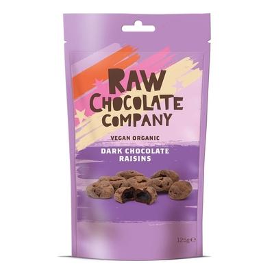 The Raw Chocolate Company Organic Chocolate Raisins 125g