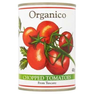Organico Chopped Tomatoes 400g