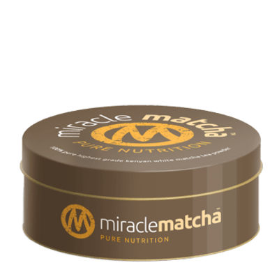 Miracle Matcha 100% Pure White Matcha Tea 40g