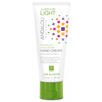 Andalou Naturals Lime Blossom Hand Cream 100ml