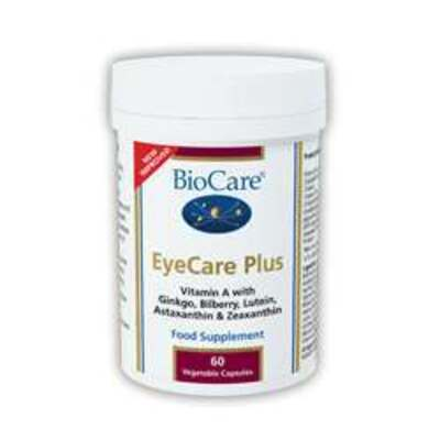 BioCare EyeCare Plus 60 Capsules