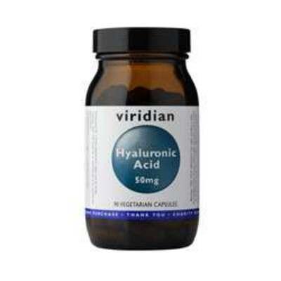 Viridian Hyaluronic Acid 50mg 90 Capsules