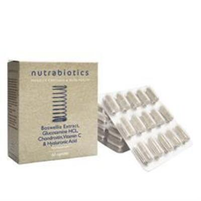 Nutrabiotics Joint Supplement with Boswelli 60 Capsules