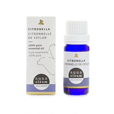 Aqua Oleum Citronella Essential Oil 10ml