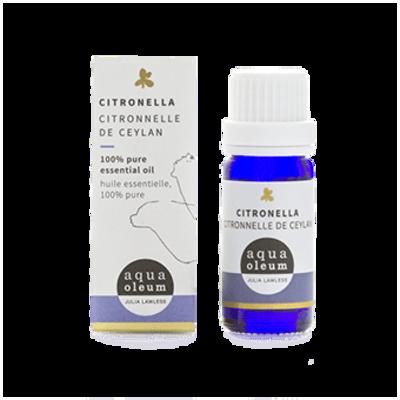 Aqua Oleum Citronella Essential Oil 10ml