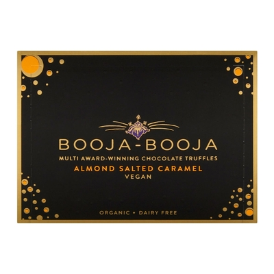 Booja Booja Almond & Sea Salt Caramel Chocolate Truffles 69g