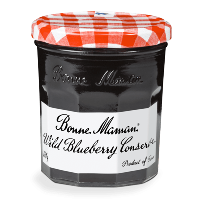 Bonne Maman Wild Blueberry Conserve 370g
