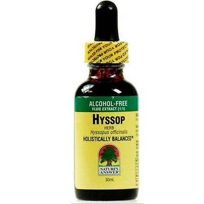 Natures Answer Hyssop Herb 30ml