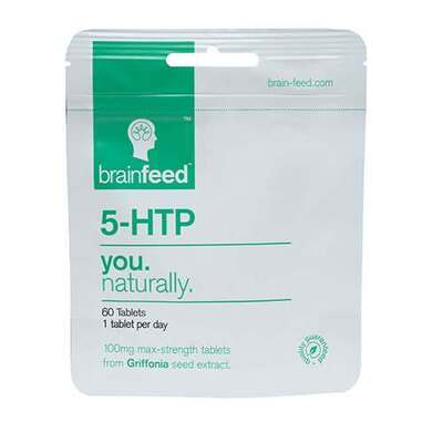 Brainfeed 5-HTP 100mg Max Strength 60 Tablets