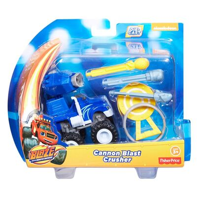 Fisher Price Blaze And The Monster Machines Cannon Blast Crusher