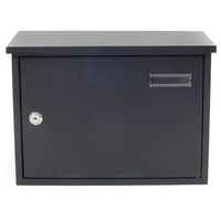 Taylor Black Letterbox - non personalised version