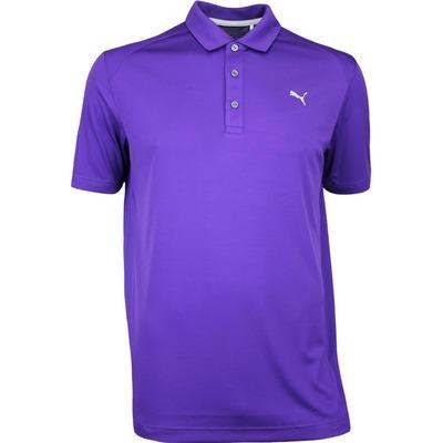 Puma Golf Shirt Essential Pounce Violet Indigo AW17
