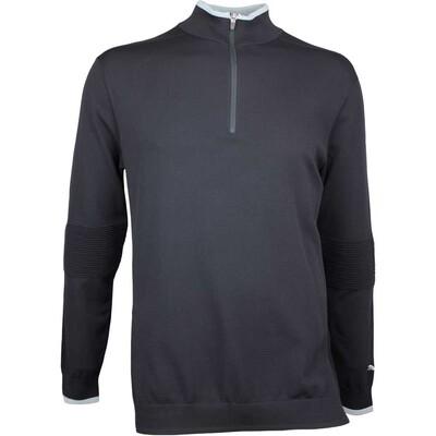 Puma Golf Jumper Evoknit Q Zip Black AW17