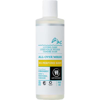 Urtekram Organic No Perfume Baby All-Over Wash 250ml
