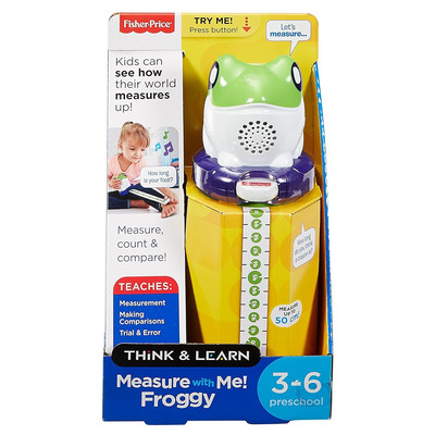 Fisher Price Think And Learn Measure With Me Froggy Activity Toy