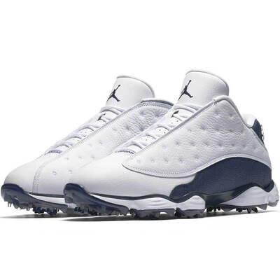 Nike Golf Shoes Air Jordan 13 White Navy 2018