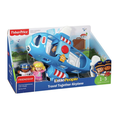 Fisher-price Little People Travel Together Airplane Activity Toy