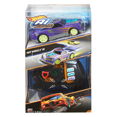 Mattel Hot Wheels Smart Car Turbo Diesel And Controller