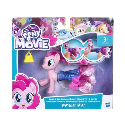 My Little Pony The Movie Pinkie Pie Land And Sea Fashion Styles Figure