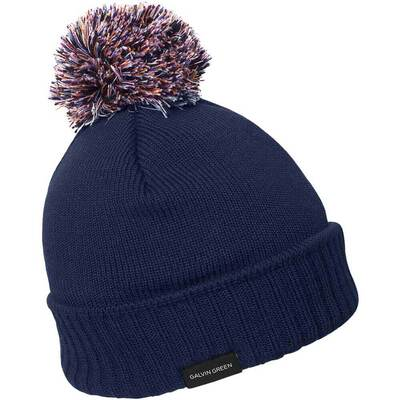 Galvin Green Golf Hat BOO Windstopper Beanie Navy AW17