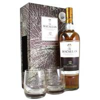 Macallan 12 Year Old Sherry Oak Gift Pack