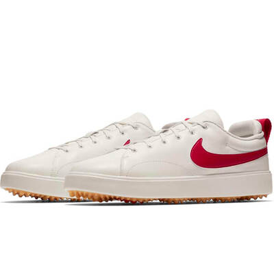Nike Golf Shoes Course Classic Sail Gym Red 2018