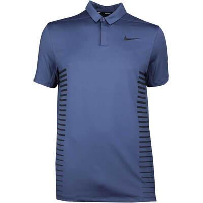 Nike Golf Shirt NK Dry Print Thunder Blue SS18