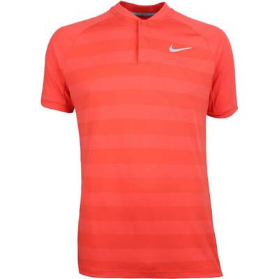 Nike Golf Shirt Zonal Cooling Momentum Blade Rush Coral SS18